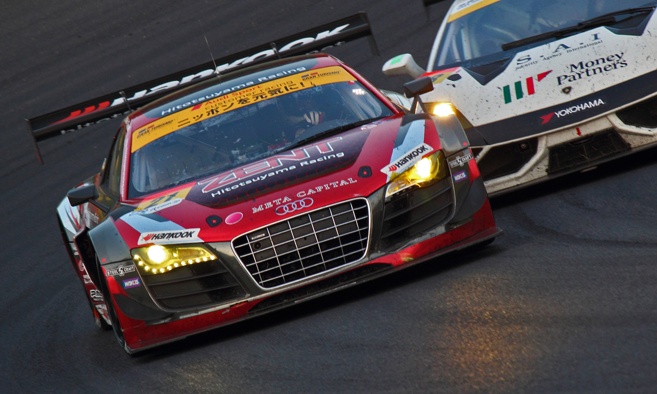 ZENT Audi R8 LMS ultra(20130822)