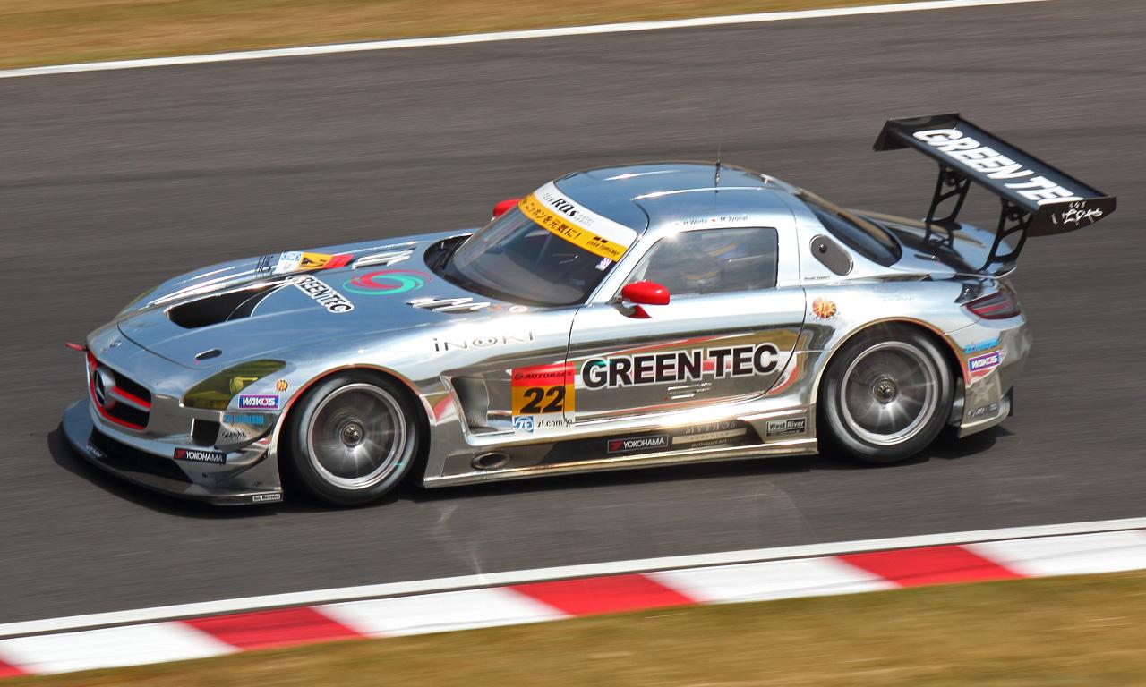 グリーンテック SLS AMG GT3(20130822)