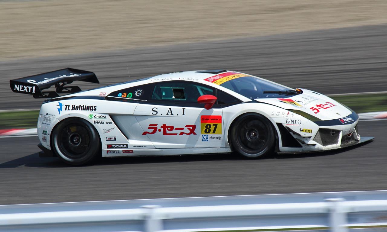 ラ・セーヌ ランボルギーニ GT3(20130822)