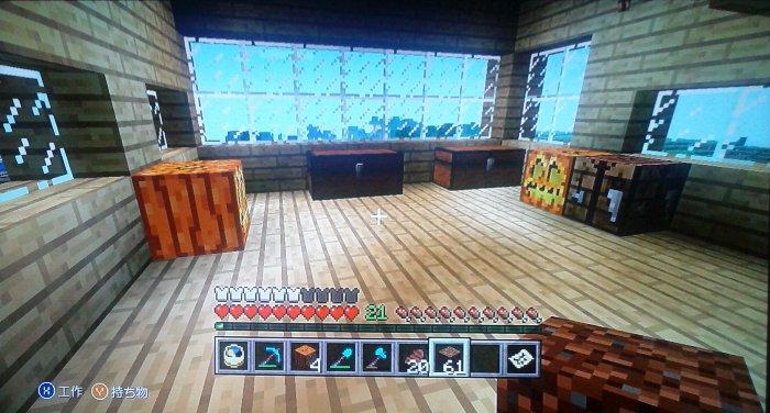 本丸御殿2階。まだ完成ではありませんが倉庫部屋にしようかと。