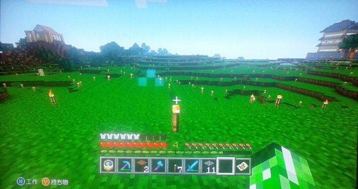 城と拠点の中間地点の草原地帯