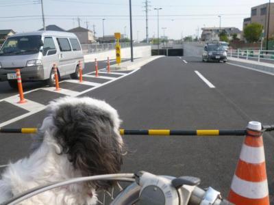 道路開通直前20130415