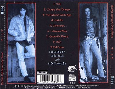 s-Richie Kotzen Greg Howe - Tilt - Back