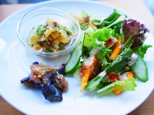 夏のサラダ サイズ変更