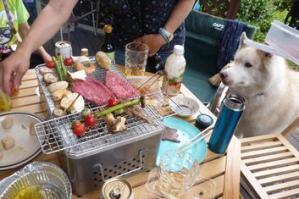 2013年6月ロシェ邸BBQ 015