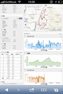 20130531CAAD10北竜湖経由高社山一周65km走行データ