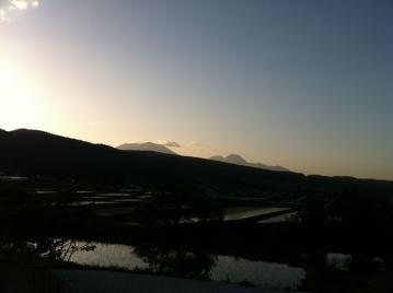 20130603信越五高原ロングライド2013夕焼け