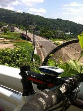 20130625CAAD10栄村トンネル回避コース
