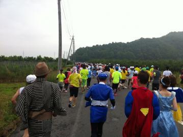20130714小布施見にマラソンスタート前