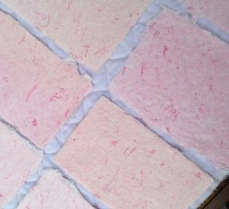 ピンク紙すき