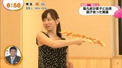 皆藤愛子ノースリーブ二の腕画像
