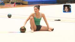 畠山愛理選手の練習着開脚おっぱい画像