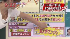 吉田明世アナが前屈みでブラチラ画像