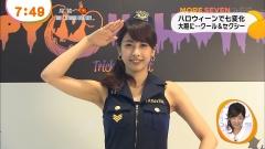 加藤綾子アナ脇婦人警官画像