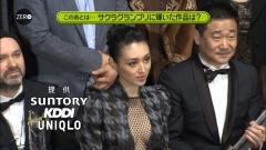 栗山千明セクシーワンピ第26回東京国際映画祭画像