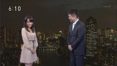 片山千恵子アナ横乳画像