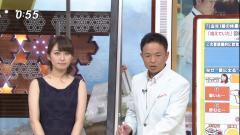 枡田絵理奈アナノースリーブブラ紐画像