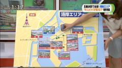 枡田絵理奈アナの胸元おっぱい谷間ブラ画像1