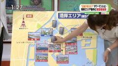 枡田絵理奈アナの胸元おっぱい谷間ブラ画像5