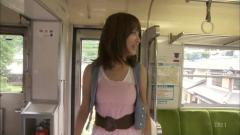 枡田絵理奈アナおっぱい電車画像