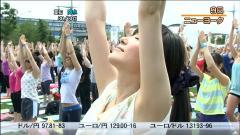 大江麻理子アナの脇の剃り跡画像