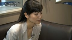 大江麻理子胸チラ画像1
