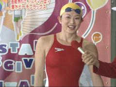 田中雅美競泳水着インタビュー画像