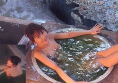 安めぐみお風呂オッパイ画像