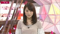 松村未央アナ乳首透け画像3