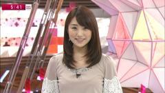 松村未央アナ乳首透け画像4