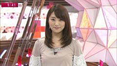 松村未央アナ乳首透け画像5