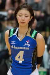 岩坂名奈選手の二の腕画像