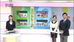 黒ストの鈴木奈穂子アナと西堀裕美アナ画像