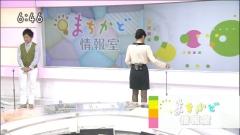 鈴木奈穂子アナのブラ透け黒ストッキング画像