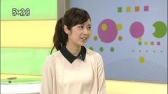 上條倫子アナ透け透けシースルー画像1