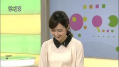 上條倫子アナ透け透けシースルー画像2