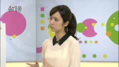 上條倫子アナ透け透けシースルー画像3