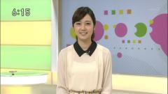 上條倫子アナ透け透けシースルー画像5
