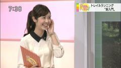 上條倫子アナ透け透けシースルー画像6