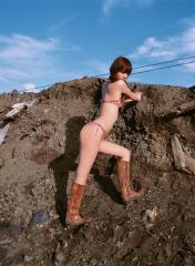 佐々木希のプリケツビキニ画像
