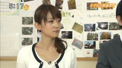 森葉子アナの横顔画像