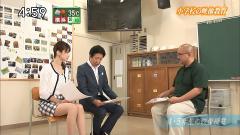 森葉子アナのミニスカ太もも画像