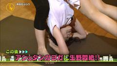 生野陽子アナの三点倒立画像