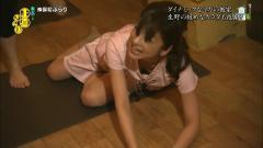 生野陽子アナが倒れてブラチラ画像