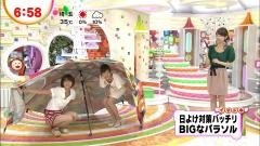 生野陽子アナ前屈みでブラチラ画像