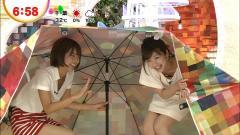 生野陽子アナと久代萌美が胸チラ画像