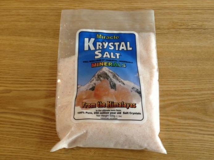 Klamath, Miracle Krystal Salt, 1.1 lbs (500 g)