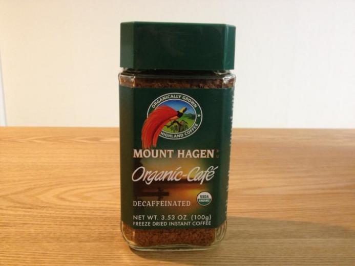 Mount Hagen, Organic-Café, Decaffeinated, Freeze Dried Instant Coffee, 3.53 oz (100 g)