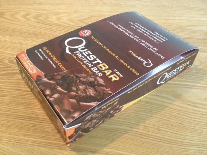 Quest Nutrition, Protein Bar, Chocolate Brownie, 12 Bars, 2.12 oz (60 g) Each