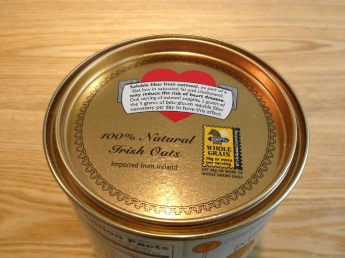 McCann's Irish Oatmeal, Steel Cut Oats, 28 oz (793 g) $7.12_1